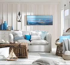 wohnzimmer mit im maritim look maritime einrichtung