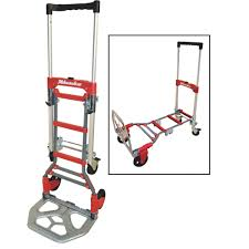Milwaukee 2-In-1 Hand Truck   Gleason Industrial Prod.   Essential ... 15 Discount 3 In 1 Alinum Hand Truck Foldable Dolly Cart 1000 Lb Cosco 3in1 Assisted With Flat Free Products Shifter Mulposition Folding And Yao Hoo Metal Industrial Ltd 3in1 Truckassisted Truckcart W Flat Csc122bgo1e 2in1 And 16 5 Nk Heavy Duty In Convertible Rk Industries Group Inc 2in1 58 X 12 34 49 14 Sco Alinium Sack Parrs Workplace Equipment Trucks Stock Ulineca R Us Htrus Position Nk Rk