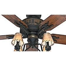 hunter adirondack 52 ceiling fan model 59006 amazon com