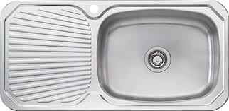 Kitchen Sinks With Drainboard Built In by Oliveri Stainless Steel Drainboard Sinks Retro Renovation