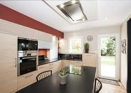 hotte de plafond novy cuisine aménagée sur mesure nantes et angers evm création