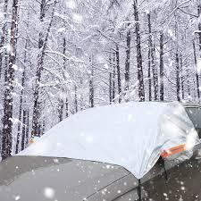 Amazoncom ELEGEEK Windshield Snow Cover Windshield Ice Frost