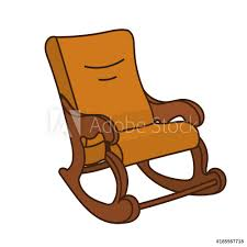 Cartoon Object Illustration - Vintage Rocking Chair Isolated ... Illustration Featuring An Elderly Woman Sitting On A Rocking Vector Of Relaxed Cartoon Couple In Chairs Lady Sitting Rocking Chair Storyweaver Grandfather In Chair Best Grandpa Old Man And Drking Tea Santa With Candy Toy Above Cartoon Table Flat Girl At With Infant Baby Stock Fat Dove Funny Character Hand Drawn Curled Up Blue Dress Beauty Image Result For Old Man 2019 On Royalty Funny Bear Vector Illustration