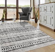 teppich skandinavische muster in grau vimoda homestyle