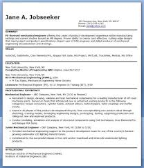 Manufacturing Engineer Resume Awesome Mechanical Engineering Sample Pdf Experienced Of 23 Unique