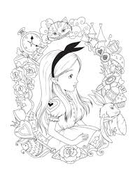 Alice In Wonderland Pumpkin Carving Patterns by Alice In Wonderland Coloring Book Pages Coloring Pages