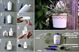 Home Decoration Ideas With Waste Material Craft For Decor Recycled Materials