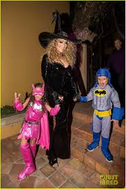 Busta Rhymes Halloween Interview by Mariah Carey Celebrates Halloween With Her Superhero Kids Photo