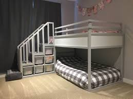 Low To The Ground Bunk Beds by Kura Bunk Bed Hack For Two Toddlers Ikea Hackers Ikea Hackers