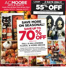 Halloween Express Rochester Mn 2014 by View A C Moore Weekly Craft Deals