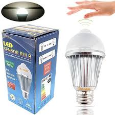 motion sensor replacement light bulbs