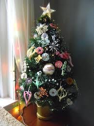 Mini Fibre Optic Christmas Tree by Fiber Optic Decorated Christmas Trees Psoriasisguru Com