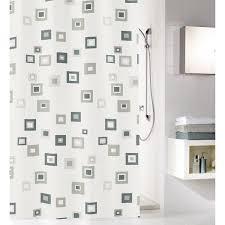 bwo duschvorhang anthrazit 180 x 200 cm