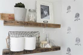 34 DIY Ideas Bathroom Floating Shelves You'll Love - BestDecor Bathroom Shelves Ideas Shelf With Towel Bar Hooks For Wall And Book Rack New Floating Diy Small Chrome Over Bath Storage Delightful Closet Cabinet Toilet Corner Decorating Decorative Home Office Shelving Solutions Adjustable Vintage Antique Metal Wire Wall In The Basement Inspiration Living Room Mirror Replacement Looking Powder Unit Behind De Dunelm Argos