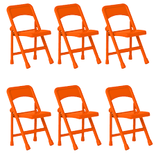 Set Of 6 Orange Folding Chairs For 6 Inch WWE Wrestling Action Figures Charles Bentley Folding Fsc Eucalyptus Wooden Deck Chair Orange Portal Eddy Camping Chair Slounger With Head Cushion Adjustable Backrest Max 100kg Outdoor Fniture Chairs Chairs 2 Metal Folding Garden In Orange Studio Bistro Lifetime Spandex Covers Stretch Lycra Folding Chair Bright Orange Minimal Collection 001363 Ikea Nisse Kijaro Victoria Desert Dual Lock Superlight Breathable Backrest Portable 1960s Retro Peter Max Style Flower Power Vinyl Set Of Flash Fniture Ty1262orgg Details About Balcony Patio Garden Table
