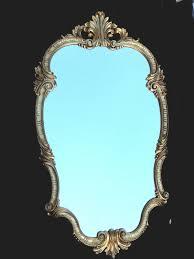antyki i sztuka wandspiegel oval barock gold 98x55 antik