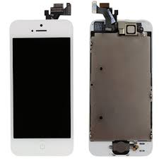 White iPhone 5 LCD Touch Screen Digitizer Replacement Parts