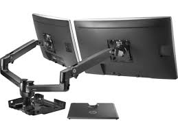 Cpu Holder Under Desk Mount Nz by Mounts U0026 Stands Hp Official Store
