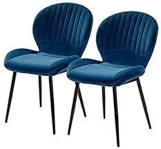 2x stühle dunkelbraun lehnstuhl esszimmer stuhl polsterstuhl