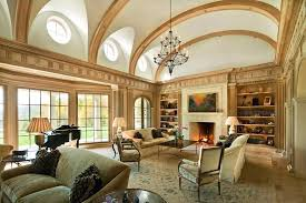 Living Room Lighting Ideas Traditional High Ceiling With Clerestory