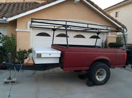 For Sale Pickup Bed UTILITY TRAILER