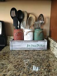 Endearing Mason Jar Kitchen Decor And Best 25 Quart Jars Ideas On Home Design Primitive