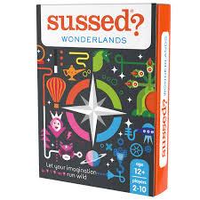 SUSSED Wonderlands Juego De Tarjeta De Conversación