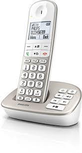 philips xl4951s fr téléphone fixe sans fil avec répondeur