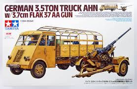 Tamiya German 3.5ton Truck AHN W/3.7cm Flak 37 | PlazaJapan