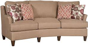 King Hickory Sofa Construction by Melrose Fabric Conversation Sofa 1465 King Hickory Array From