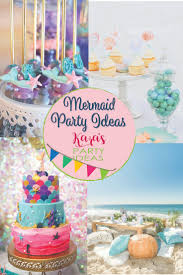 Swoon With Us Over The Hundreds Of Mermaid Party Ideas From Karas