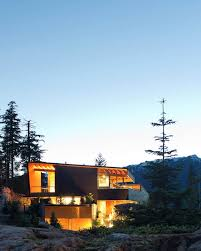 100 Whistler Tree House Residence By Battersby Howat Architects