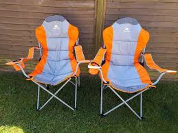 Delux Camping Chairs Retro Orange | In Taunton, Somerset | Gumtree 22x28inch Outdoor Folding Camping Chair Canvas Recliners American Lweight Durable And Compact Burnt Orange Gray Campsite Products Pinterest Rainbow Modernica Props Lixada Portable Ultralight Adjustable Height Chairs Mec Stool Seat For Fishing Festival Amazoncom Alpha Camp Black Beach Captains Highlander Traquair Camp Sale Online Ebay