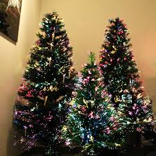 Small Fibre Optic Christmas Trees Uk by Ideas Christmas Trees Prelit Fiber Optic Christmas Tree