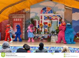 Sesame Place Halloween Parade by The Magic Of Art Show At Sesame Place Editorial Photo Image