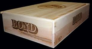 The Bond Is A Special Piece And Slightly Larger Than Standard 6 Bottle Flat Case Three Approx Half Size