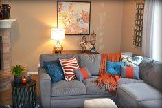 grey and rust living room home design architecture cilif com