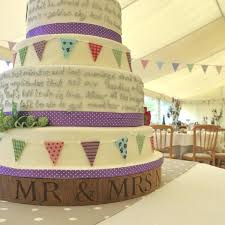 Wedding Cake Boards Stand Rustic