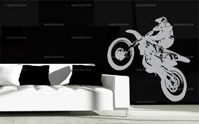 stickers motocross mural