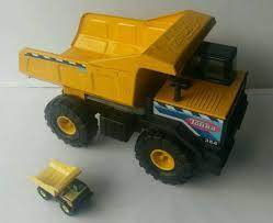 100 Steel Tonka Trucks Classic Metal Dump Truck Mighty Built Tough Heritage Toy