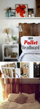 Check Out How To Build This Easy DIY Pallet Headboard Istandarddesign