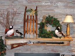 Rustic Christmas Tree Decorating Ideas