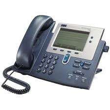 Cisco 7940G 2-Line VoIP Phone, Refurbished - CP-7940G-RF