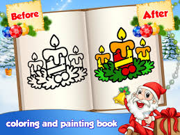 Christmas Kids Coloring Book Android Education App Source Code