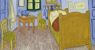 kunst zum leben erwecken vincents schlafzimmer in arles