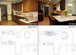 Galley Kitchen Before And After Awesome Pictures 70 On House