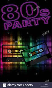 Party Celebration Retro Eighties Backdrop Background Music Sound Art Game