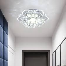led deckenleuchte kristall le wohnzimmer real de
