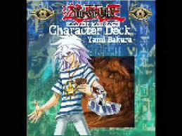 yugioh bakura character deck yami bakura themed deck box