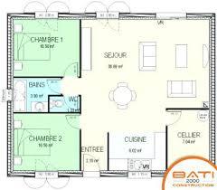 plan de maison 2 chambres plan maison 2 chambres ball2016 com